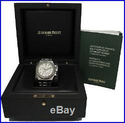 Audemars Piguet Royal Oak Chronograph 41mm White 26320st. Oo. 1220st. 02 BOX/PAPERS