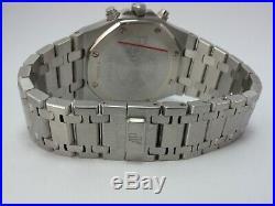 Audemars Piguet Royal Oak Chronograph Blue Dial 1 Year Warranty 25860st