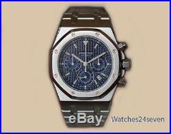 Audemars Piguet Royal Oak Chronograph Blue Dial 39mm