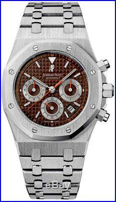 Audemars Piguet Royal Oak Chronograph Brown Dial Havana 26300ST. OO. 1110ST. 08