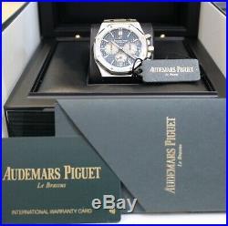 Audemars Piguet Royal Oak Chronograph Steel Blue 26331ST. OO. 1220ST. 01 2018