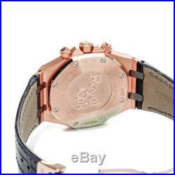 Audemars Piguet Royal Oak Chronograph Watch Leo Messi LE 41mm 26325OL Tantalum