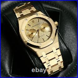 Audemars Piguet Royal Oak Day-Date 25572BA / 25572BA. OO. 0789BA01 18k Yellow Gold
