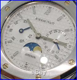 Audemars Piguet Royal Oak Day-Date Moon Phase 36mm Steel Ref. 25594. ST Automatic