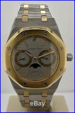 Audemars Piguet Royal Oak Day Date Moonphase 36mm 18kt Gold & Steel 25594SA