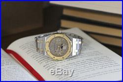 Audemars Piguet Royal Oak Day Date Moonphase SS & 18k Yellow Gold Mens Watch