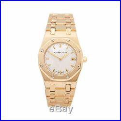 Audemars Piguet Royal Oak Diamond 18k Yellow Gold Watch 66270ba Com002498