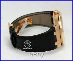 Audemars Piguet Royal Oak Dual Time 39mm 18K Rose Gold 26120OR. OO. D002CR. 01 MINT