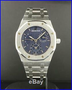 Audemars Piguet Royal Oak Dual Time Date 36mm Ref 25730ST. O. 0789ST. 06 Blue Dial