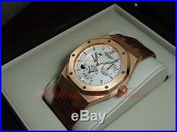 Audemars Piguet Royal Oak Dual Time Rose Gold Power Reserve 26120OR. OO. D088CR. 01