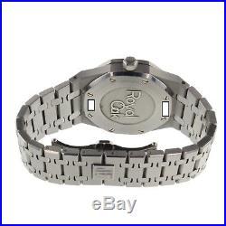 Audemars Piguet Royal Oak Dual Time Steel 39 mm Blue Watch 26120ST. OO. 1220ST. 02