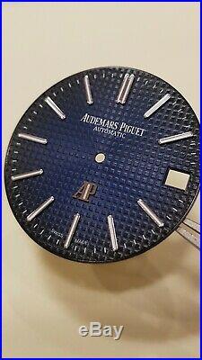 Audemars Piguet Royal Oak Jumbo 15202IP Special Edition Smoke Blue Dial
