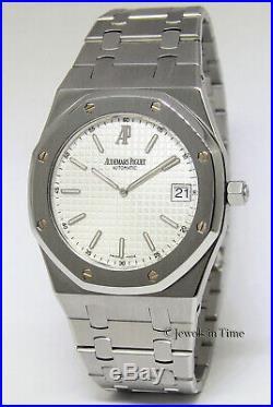 Audemars Piguet Royal Oak Jumbo Extra Thin 39mm Watch & Box 15202ST