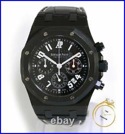 Audemars Piguet Royal Oak La Boutique 39mm Black 26014SN. OO. D002CR. 01 Box Papers