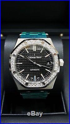 Audemars Piguet Royal Oak Ladies Automatic Diamond Bezel 15451ST. ZZ. 1256ST. 01