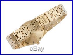 Audemars Piguet Royal Oak Lady 18kt Gelbgold Qurz Armband 18kt Gelbgold Vintage