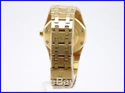 Audemars Piguet Royal Oak Medium 750-Gelbgold Automatic Herren-/Damenuhr
