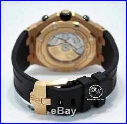 Audemars Piguet Royal Oak Offshore 18K Rose Gold 26470OR. OO. A002CR. 01 MINT B/P