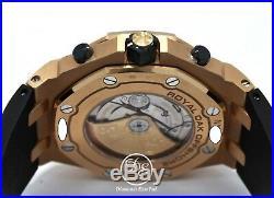 Audemars Piguet Royal Oak Offshore 18K Rose Gold 26470OR. OO. A002CR. 01 Mint B Ppr