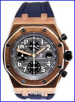 Audemars Piguet Royal Oak Offshore 18k Rose Gold 42mm Watch 25940OK. OO. D002CA. 01