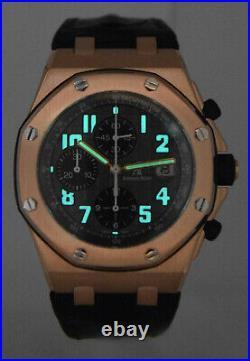 Audemars Piguet Royal Oak Offshore 18k Rose Gold 42mm Watch 25940OK. OO. D002CA. 02