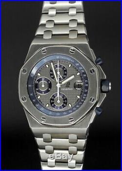 Audemars Piguet Royal Oak Offshore 25721TI The Beast in Titanium with Bracelet