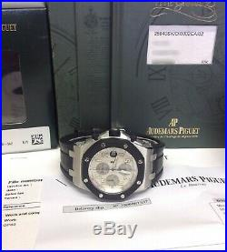 Audemars Piguet Royal Oak Offshore 25940SK 42mm Silver Dial With Papers SERVICED