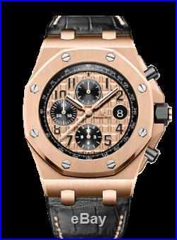 Audemars Piguet Royal Oak Offshore 26470OR. OO. A002CR. 01 18k Pink Gold Mens Watch