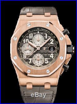 Audemars Piguet Royal Oak Offshore 26470OR. OO. A125CR. 01 18K Pink Gold Mens Watch