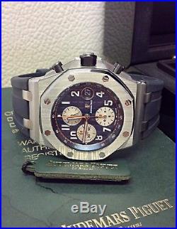 Audemars Piguet Royal Oak Offshore 26470ST Navy Steel Box & Papers 2015