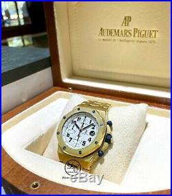 Audemars Piguet Royal Oak Offshore 42mm 18K Gold 25721ba. Oo. 1000ba. 03 Box Papers