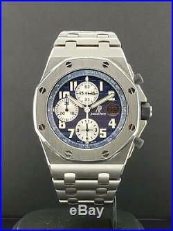 Audemars Piguet Royal Oak Offshore 42mm Titanium Blue Ref. 26170TI. OO. 1000TI. 04
