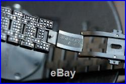 Audemars Piguet Royal Oak Offshore 42mm black diam. Chronograph watch wristwatch