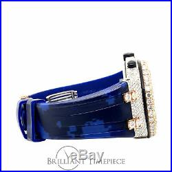 Audemars Piguet Royal Oak Offshore 44MM Horus Strap Stainless/Rose 24ct Diamond