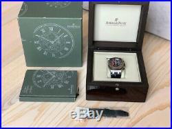 Audemars Piguet Royal Oak Offshore Alinghi Polaris Steel Watch MSRP $31,500