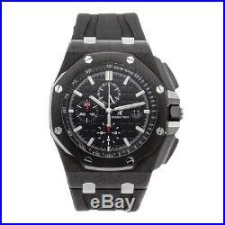 Audemars Piguet Royal Oak Offshore Auto Carbon Mens Watch 26400AU. OO. A002CA. 01