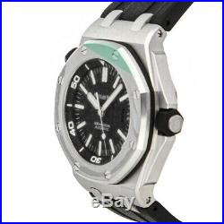 Audemars Piguet Royal Oak Offshore Auto Steel Mens Watch 15703ST. OO. A002CA. 01