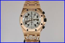 Audemars Piguet Royal Oak Offshore Chronograph 18K Rose Gold Brick 26170OR