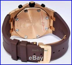 Audemars Piguet Royal Oak Offshore Chronograph 18k Rose Gold Mens Watch 25940OK