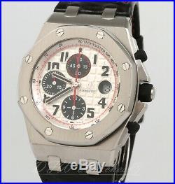 Audemars Piguet Royal Oak Offshore Chronograph 26170ST Panda Dial White Black