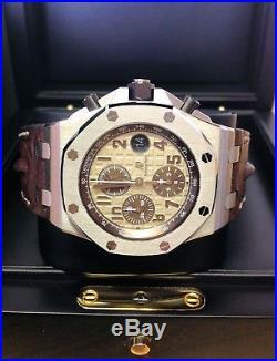 Audemars Piguet Royal Oak Offshore Chronograph 26470ST. OO. A801CR. 01 Serviced