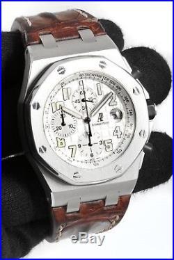 Audemars Piguet Royal Oak Offshore Chronograph 42mm Case with Brown Leather