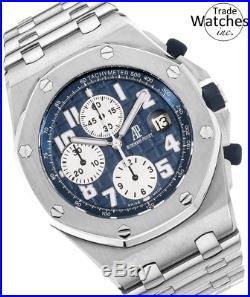 Audemars Piguet Royal Oak Offshore Chronograph Mens Blue 25721 ST