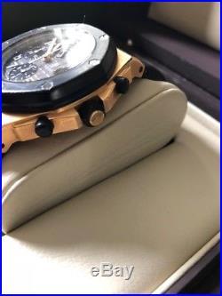 Audemars Piguet Royal Oak Offshore Chronograph Rose Gold