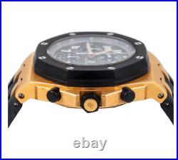 Audemars Piguet Royal Oak Offshore Chronograph Rose Gold Rubber Strap 25940ok