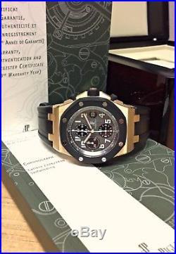 Audemars Piguet Royal Oak Offshore Chronograph Rose Gold SERVICED BY AP