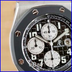Audemars Piguet Royal Oak Offshore Chronograph Serviced June 2020