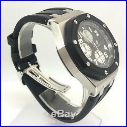Audemars Piguet Royal Oak Offshore Chronograph Stainless Stee Watch MSRP $25,000