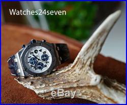 Audemars Piguet Royal Oak Offshore Chronograph White & Navy 42mm