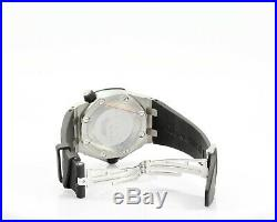 Audemars Piguet Royal Oak Offshore Diver ref15710ST SS Men's Watch Rubber Band